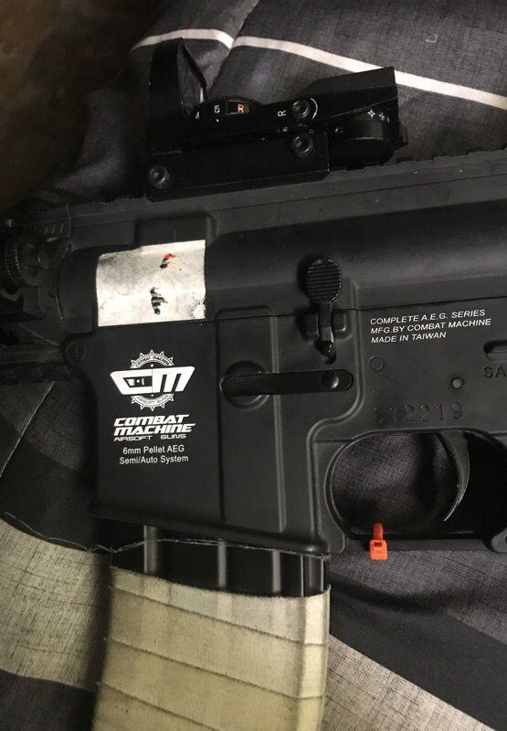 """""""NERF GUN"""" cm16 raider AEG Airsoft. """""""