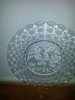 Fruit glass plates