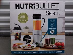 NutriBullet select blender with multiple functions
