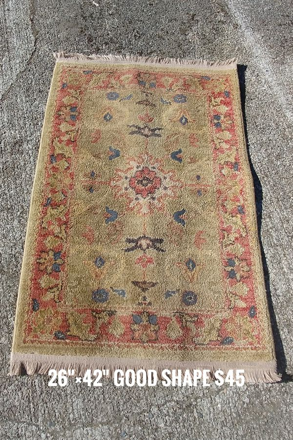 2 carpets/rugs for sale, various sizes (Household) in Olympia, WA - OfferUp