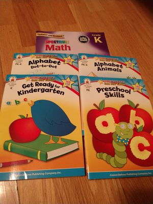 Pre k and k teaching books