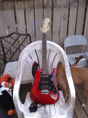 Squier Strat custom