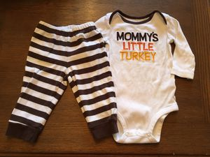 Thanksgiving outfit- size 6 months