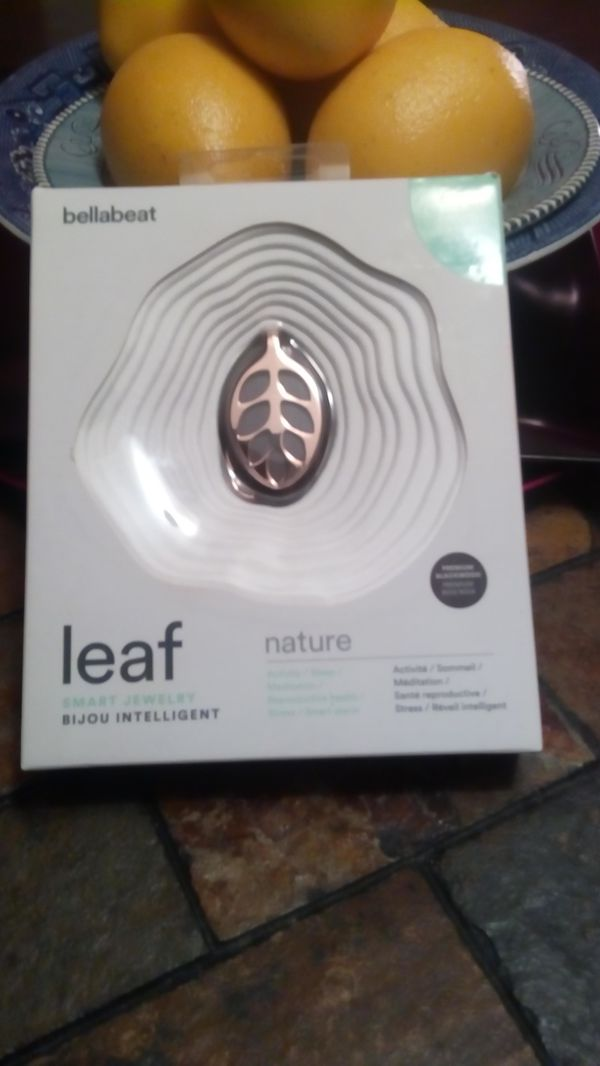 Bellabeast Leaf Nature line health tracker jewelry rose gold Fit