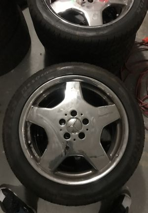 Mercedes Benz AMG 18inch Rim and Tires