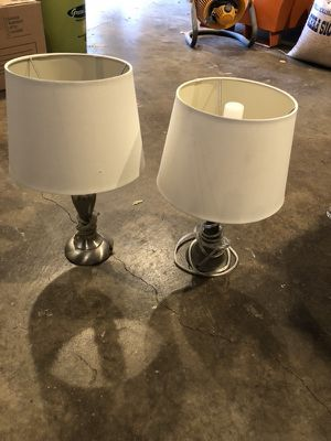 New and used lamp shades for sale in chico ca offerup set of small lamps mozeypictures Images