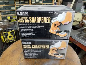 Electric Chainsaw Sharpeners