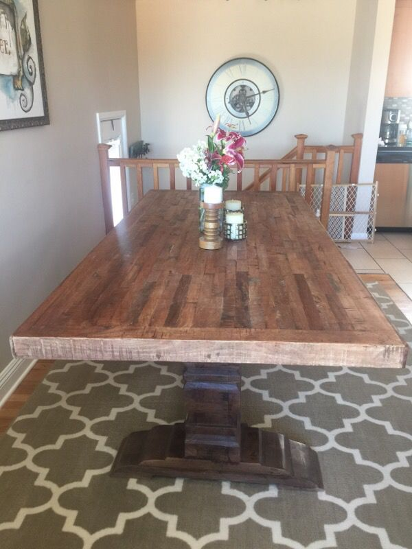 Reclaimed Dining Room Table Furniture in Seattle WA  : 2fc3203e8dc04d19ac263e6ee762f80c from offerup.com size 600 x 800 jpeg 64kB