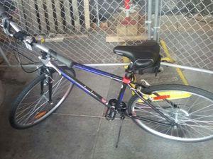 Brand new infinty black and blue bike
