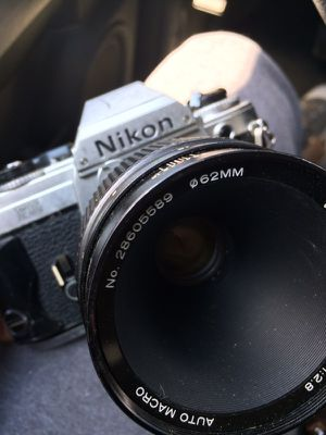 Nikon FG 35mm Camera with Lens WORKS GREAT