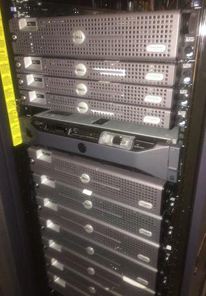 1 U ,2 U DELL servers.