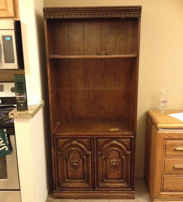 two matching antique bookshelves - Antique Bookshelves