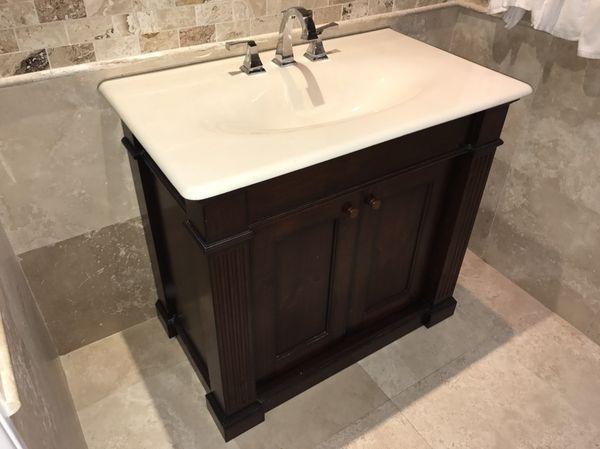 Solid Wood Bathroom Vanity Furniture In Coral Springs FL - Bathroom vanities coral springs fl