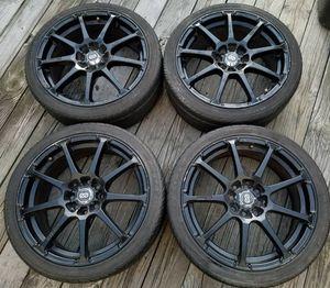 "17"" Black Rims (4lug cars only)"