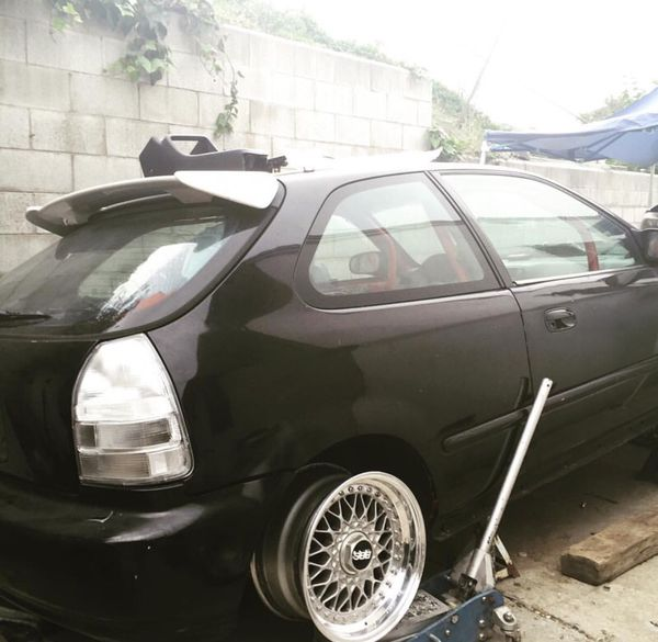 Ek Hatch All Clear Rare Tail Lights (Auto Parts) In Los