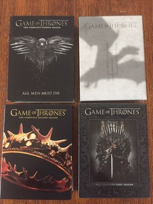 Game of Thrones DVD, the complete season 1,2,3 &4