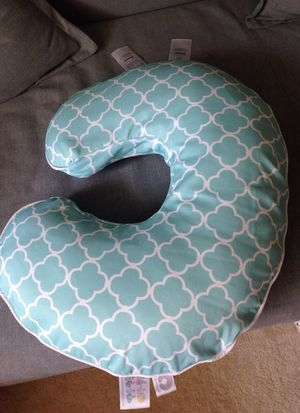 Boppy pillow with new cover