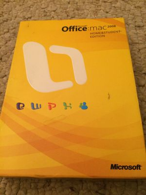 Office Mac 2008 Everything included