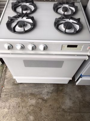 Gas stove nice and hot