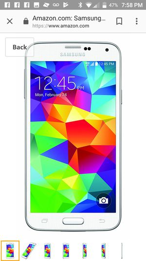 Samsung S5 factory reset. In great shape