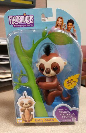 Fingerlings Kingsley Baby Sloth