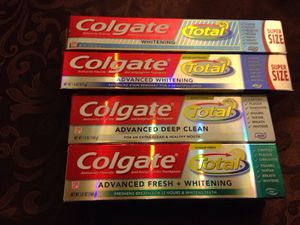 ALL Colgate Total ALL Exp date After one year & 1/2 Please see all the pictures 1 Colgate Total Anticavity Fluoride and Antigingivitis Toothpast