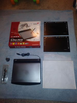 "** Barely used new Genius G-Pen F610 Ultra Slim 6""x10"" Tablet! Works with Windows Vista / Mac **"