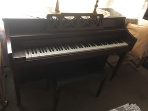 Brown Whitney by Kimball Piano