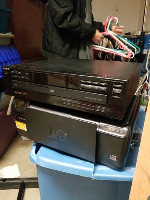 Sony cd player and hp wireless printer