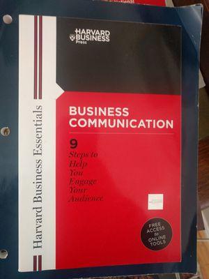 Harvard Business Communication Essentials Book