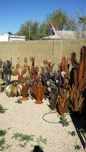 5 Quot Metal Saguaro Cactus Yard Garden Art Home Amp Garden In