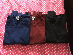 Men's cotton sweaters - size Small