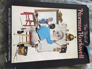 1979 the best of Norman Rockwell book