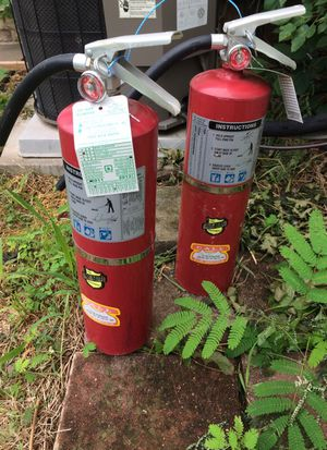 2 fire extinguishers home or business