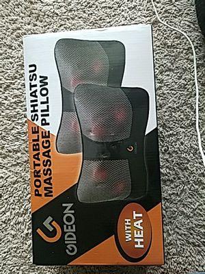 Gideon Portable Shiatsu Massage Pillow with Heat