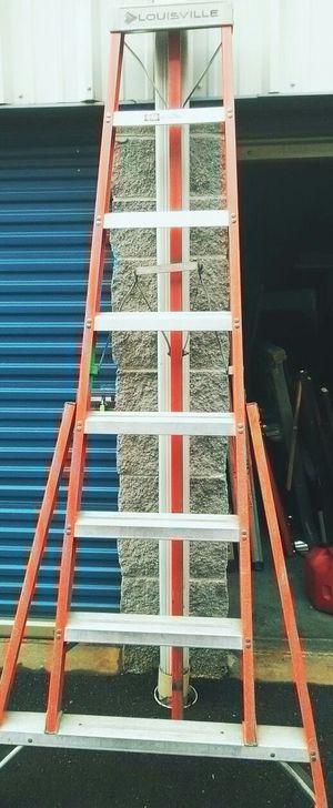8 foot tripod ladder fiber glass 125