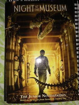 night at the museum book