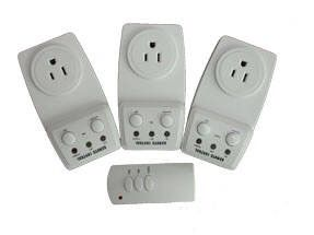 Super Switch 3-Pack Wireless Remote Control Outlet Convenience