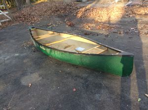 Old town still water canoe