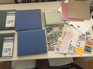 Scrap book supplies