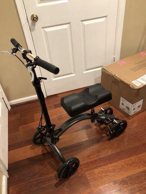 Knee bike walker