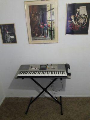 Yamaha Keyboard with Foot Pedal