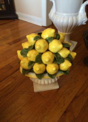Lemon decoration ceramic