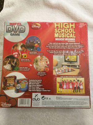 Brand new Disney High School Musical Matel DVD Game