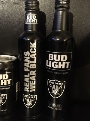 2017 NFL COLLECTOR CAN OAKLAND RAIDERS