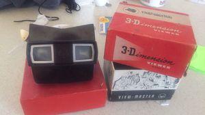Vintage 3-Dimensional viewer with (21) photo reels