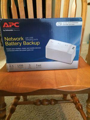 Network battery backup
