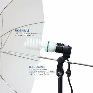 LimoStudio 2 Pcs Photography Studio AC Socket Light Stand Mount Umbrella Holder