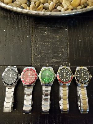 5 stainless steel Watches