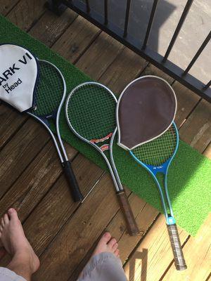 Yonex,Rawlings, Head Tennis Rackets
